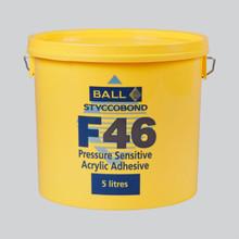Styccobond F46 Pressure Sensitive Acrylic Adhesive 15 LITRE