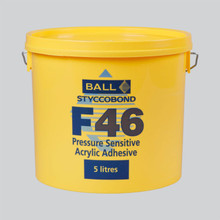 Styccobond F46 Pressure Sensitive Acrylic Adhesive 5 LITRE