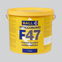 Styccobond F47 Pressure Sensitive Adhesive for use with Isolator Membrane 5 LITRE