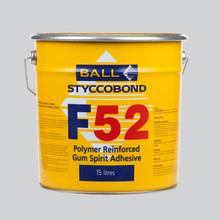 Styccobond F52 Polymer Reinforced Gum Spirit Adhesive 15 LITRE