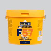 Styccobond F57 Conductive Acrylic Flooring Adhesive 15 LITRE