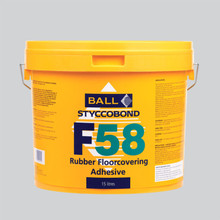 Styccobond F58 Rubber Flooring Adhesive 15 LITRE