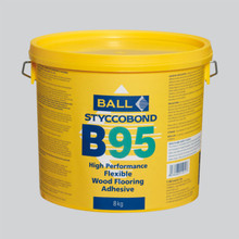 Styccobond B95 High Performance, Flexible Wood Flooring Adhesive 8KG