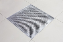 Metalfloor Aluminium Access Floor Grille - 599 x 599 mm PSA Heavy Grade / With Damper