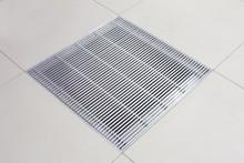 Metalfloor Aluminium Access Floor Grille - 599 x 599 mm PSA Heavy Grade / With Damper
