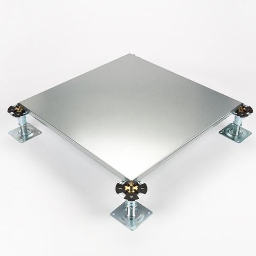 Metalfloor MFP.005 / 600 mm x 600 mm x 31 mm - BSEN12825 Grade 3 Steel Encapsulated Access Floor Panel