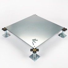 Metalfloor MFP.005-SD / 600 mm x 600 mm x 31 mm - BSEN12825 Grade 3 Screw-Down Steel Encapsulated Access Floor Panel