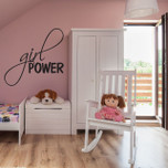 Girl Power Vinyl Wall Decal