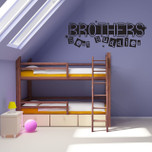 Brothers Best Buddies Vinyl Wall Decal