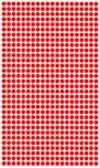 "Polka Dots Peel & Stick 0.50"" to 3.00"" (Interior/Indoor)"