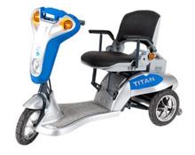 Tzora Titan Hummer XL 3 Scooter - Blue