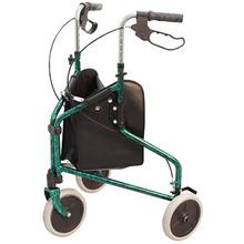 Merits 3-Wheel Aluminum Rollator - W340