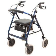 Merits 4-Wheel Aluminum Rollator - W463
