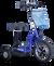 eWheels EW-18 Electric Scooter - Blue 2