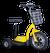 eWheels EW-18 Electric Scooter - Yellow