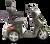 eWheels EW-36 Electric Scooter - Camo Side 1