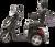 eWheels EW-36 Electric Scooter - Black Side 1