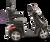 eWheels EW-36 Electric Scooter - Black Side 2