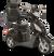 eWheels EW-36 Electric Scooter - Black 2