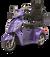 eWheels EW-36 Electric Scooter - Purple