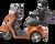 eWheels EW-36 Electric Scooter - Orange Side 2