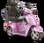 eWheels EW-36 Electric Scooter - Pink 2