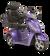 eWheels EW-36 Electric Scooter - Purple 2
