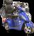 eWheels EW-36 Electric Scooter - Blue 2