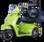 eWheels EW-36 Electric Scooter - Green