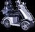 eWheels EW-72 Electric Scooter - Silver 2