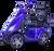 eWheels EW-72 Electric Scooter - Blue