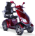 eWheels EW-72 Electric Scooter - Red 2