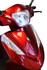 eWheels EW-66 2 Passenger Electric Scooter - Headlight