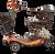 eWheels REMO Auto-Flex Travel Scooter - Orange