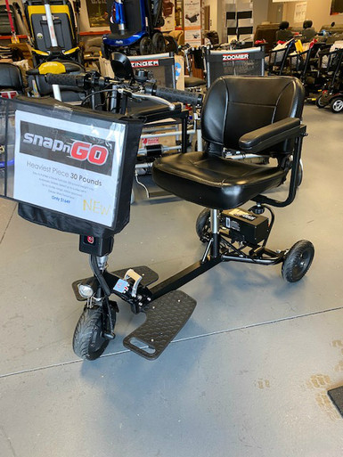 Open Box Sale! Glion SNAPnGO Mobility Scooter