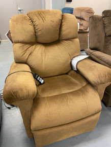 Open Box Sale! Golden MaxiComfort Power Cloud Sleep'N Lift Chair w/ Power Pillow - Copper