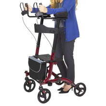 Vive Health Upright Walker - Stand-Up Rollator