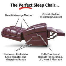 The Perfect Sleep Chair - DuraLux