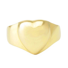Lost Sea Opals Gold Heart Ring