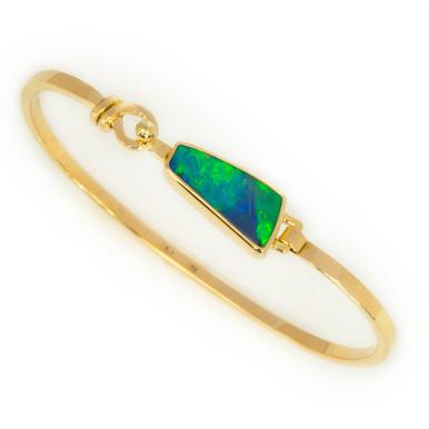 Lost Sea Opals- Black Opal Bangle
