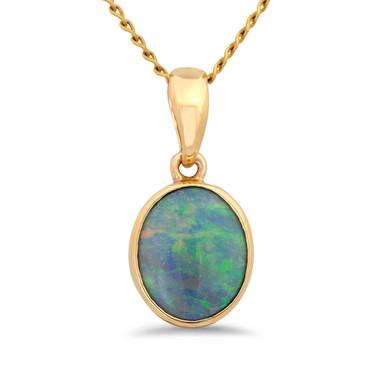 Light opal pendant - Lost Sea Opals