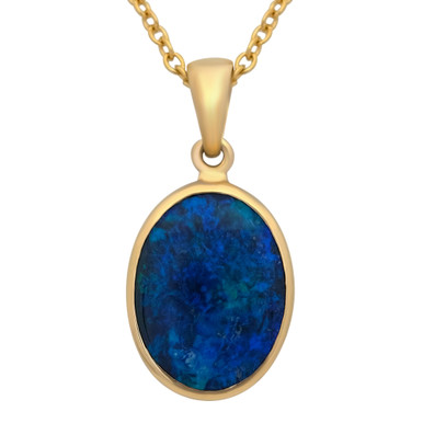 Black Opal Pendant- Lost sea Opals