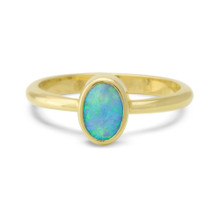 Light Opal Ring -  Lost Sea Opals