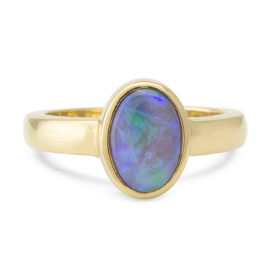 Crystal Opal Ring - Lost Sea Opals