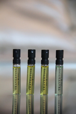 Travertine Parfum Trial Set