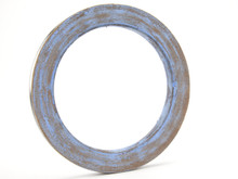 Leather Wheel charged with 2 micron blue compound for Ez-Vex.