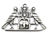 Egyptian Falcons - Pewter Pendant (PW118)