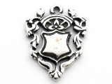 Royalty Shield - Pewter Pendant (PW142)