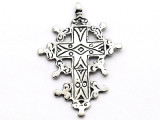 Italian Cross - Pewter Pendant (PW151)