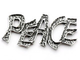 Peace - Pewter Pendant (PW156)